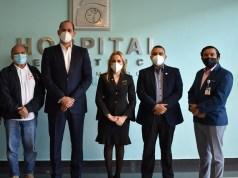 Directores hospitales, Hemocentro Nacional y Promese/Cal crean consejo gestor en complejo de salud Dra. Evangelina Rodríguez