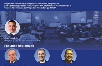 Sociedad de Ortopedia realizará este miércoles pre congreso junto a AO Trauma Latin America
