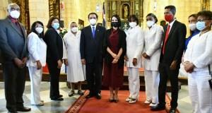Ministro de Salud y Primera Dama resaltan loable trabajo del personal de enfermería