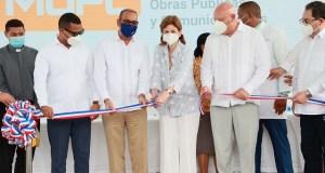 Vicepresidenta deja inaugurado hospital en Las Terrenas, Samaná