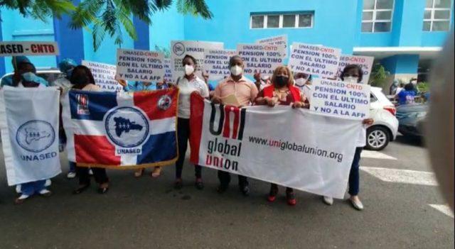 UNASED pide enfermeras vayan al sistema de pensiones bajo reparto; demandan Vicepresidenta Peña vuelva a reunirse con el gremio