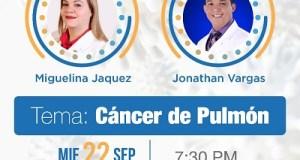Expertos abordarán el cáncer de pulmón en los Neumolive 2021 de Neumonorte