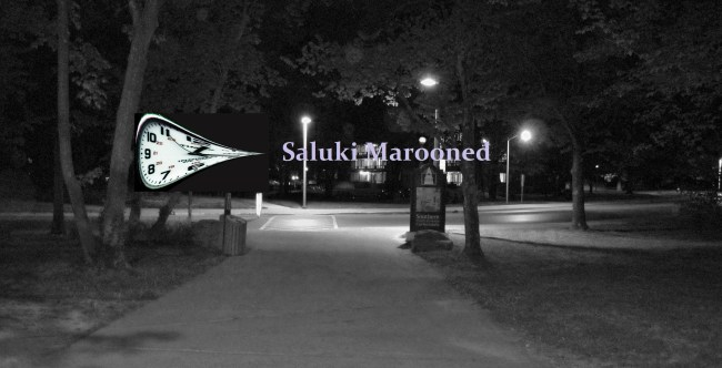 Saluki Marooned SIU night