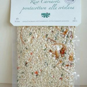 riso carnaroli pronta cottura - ortolana