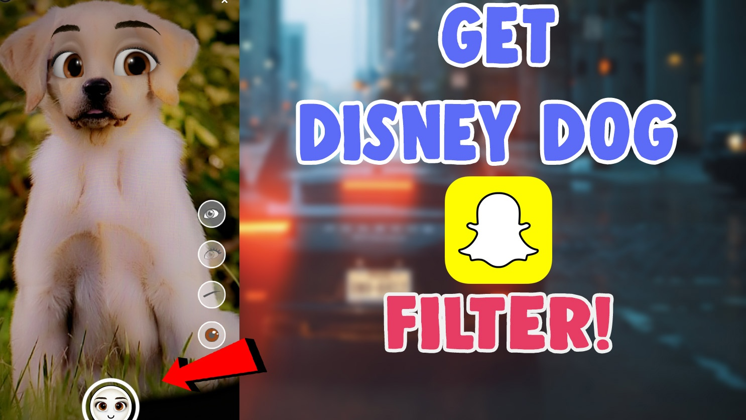 How To Get Disney Dog Filter On Snapchat And Instagram Disneyfies Snapchat Salu Network