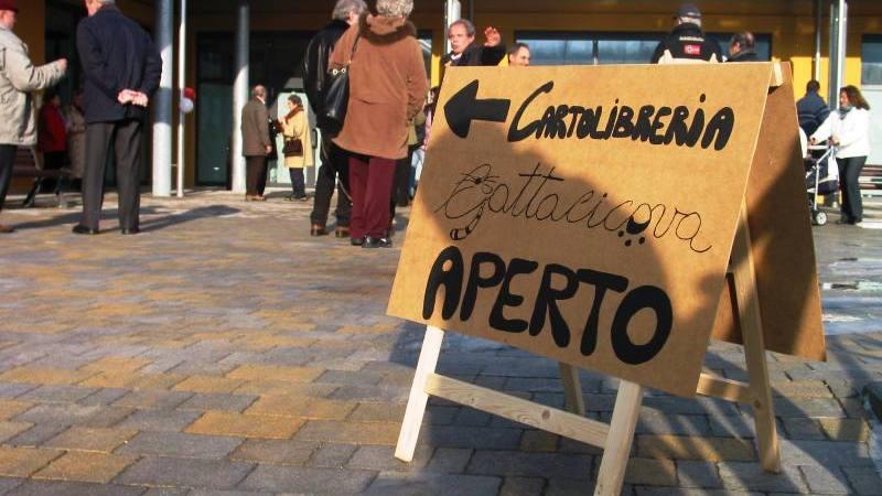 La cartolibreria Gattacicova chiude l'attività