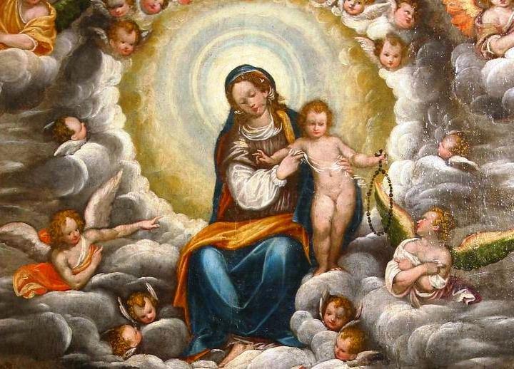 La Rivista Biellese di ottobre ha scritto della Madonna del Rosario che si trova nella pieve dell'Assunta