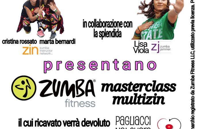 Cristina Rossato presenta un pomeriggio benefico con zumba fitness e masterclass multizin