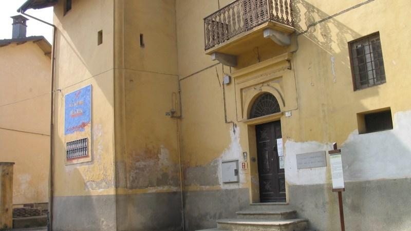 Sapevate che a Salussola c'era un teatro?