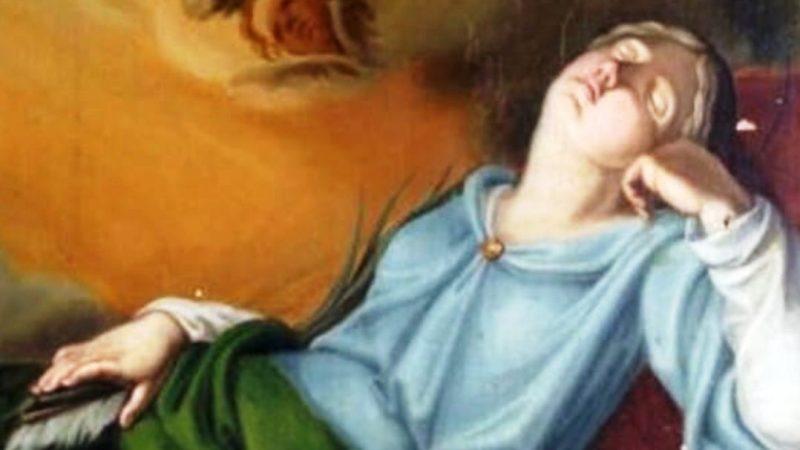 Un proverbio, un santo: Mars sùit a l'andvin-o fin-a a ij such