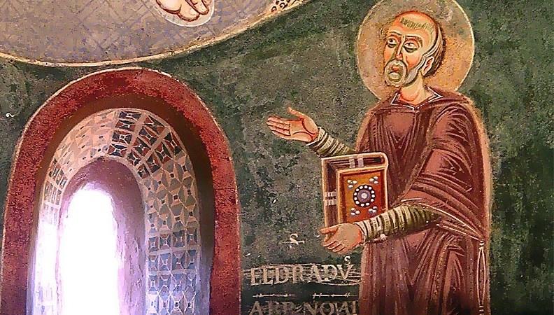 Un proverbio, un santo:  Quand mars a fà avril, avril a fa mars