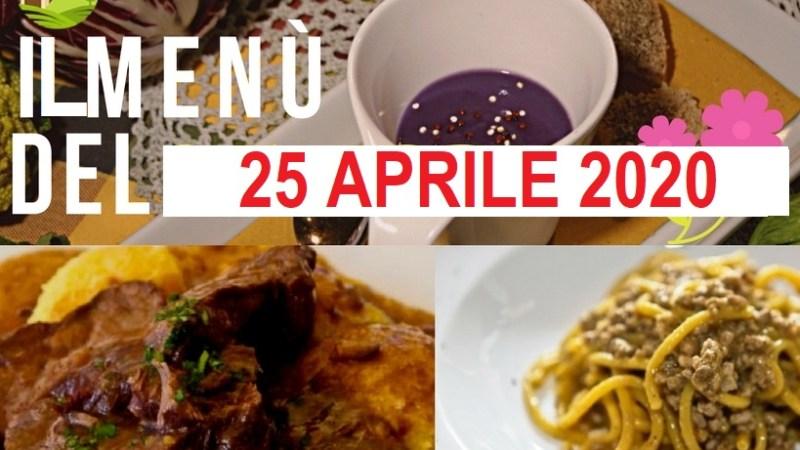 La Trattoria Stazione ci propone il menù del 25 aprile