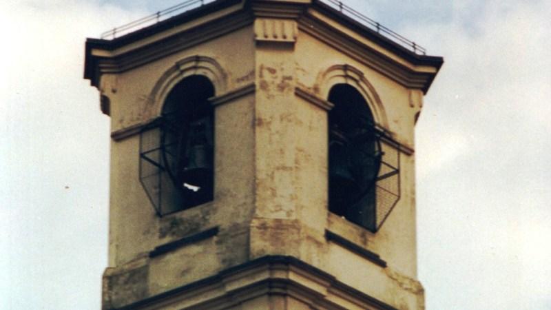 Una girometa dal campanile di Vigellio con la buona serata del parroco