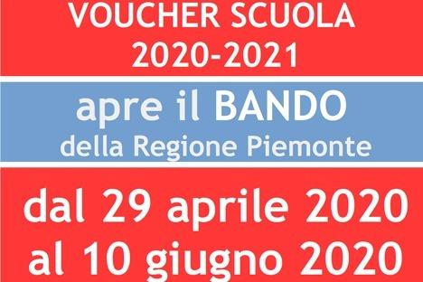 Dal 29 aprile si possono inviare le domande voucher scuola per l'anno scolastico 2020/21