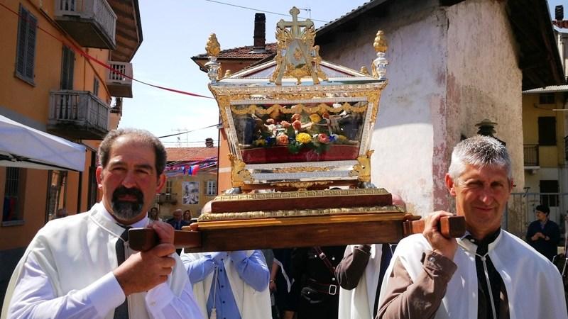 Stasera Salussola richiederà la protezione al beato Pietro Levita