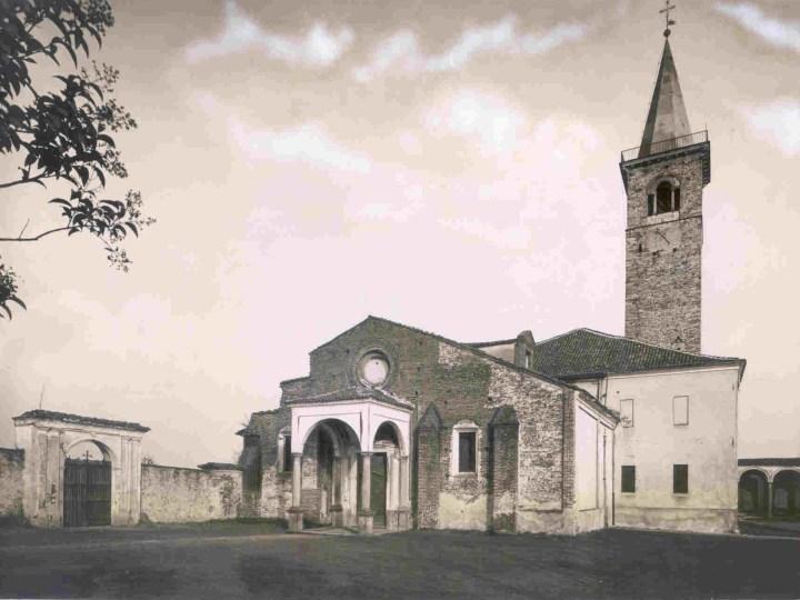 Vecchia Salussola: La pieve di santa Maria Assunta negli anni del 1940