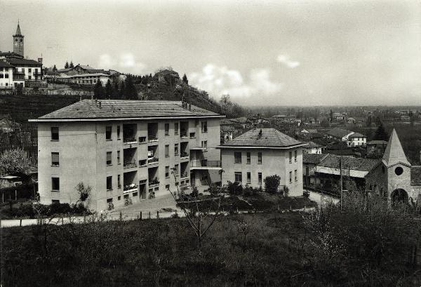 "Vecchia Salussola: Le case INA, ma dette "" case Fanfani """