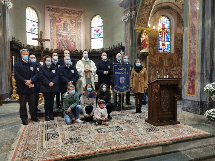 Festa di santa Cecilia in chiesa ed il grazie di parroco e sindaco. FOTONOTIZIA