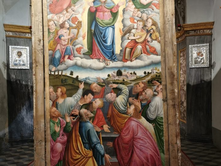 Avete visto il dipinto del Giovenone dopo il restauro?