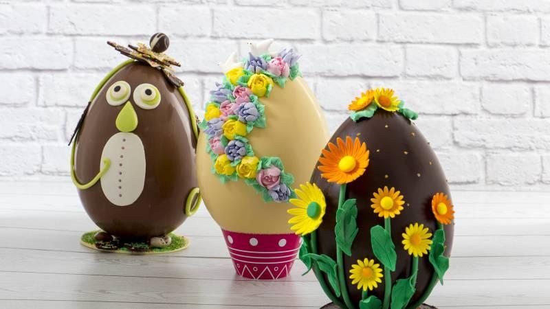 L'uovo pasquale di 3 kg si vince in parrocchia