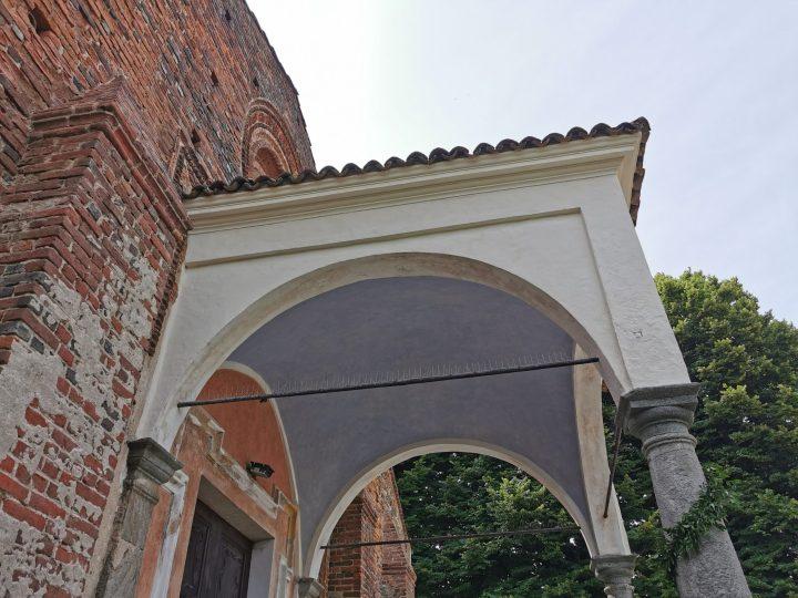 I primi risultati del protiro della pieve dell'Assunta in fase avanzata di restauro. FOTOGALLERIA