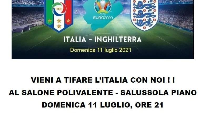 L'Italia si gioca il finale Euro 2020 questa sera su grande schermo al Polivalente