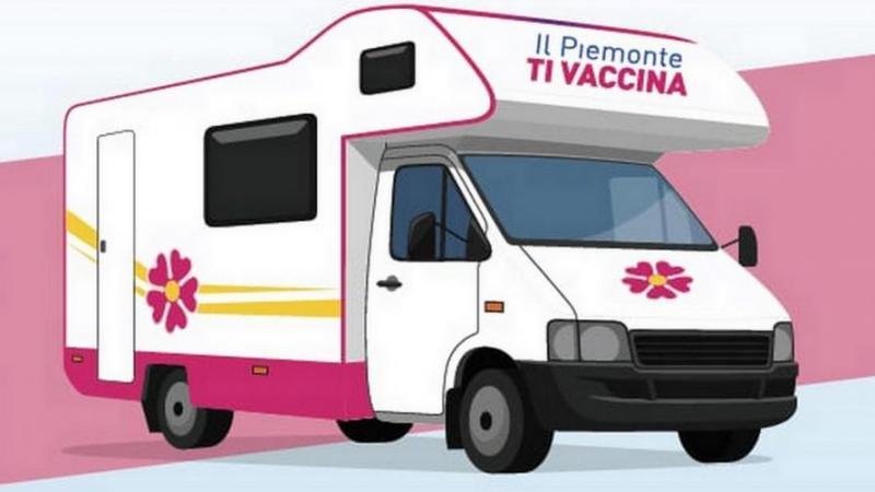 Camper attrezzato favorirà la vaccinazione in occasione delle principali manifestazioni protagoniste del territorio piemontese