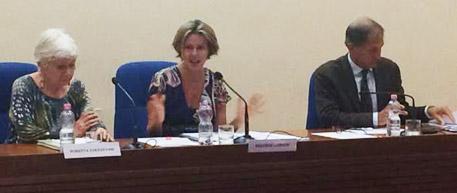 Ministro Lorenzin in conferenza stampa
