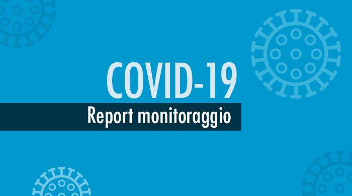 Report monitoraggio Covid-19, situazione complessivamente positiva