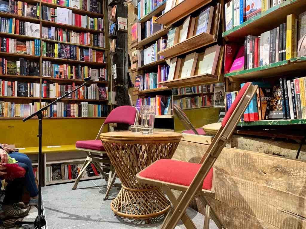 Shakespeare and Company - one of the few english american bookstores in Paris