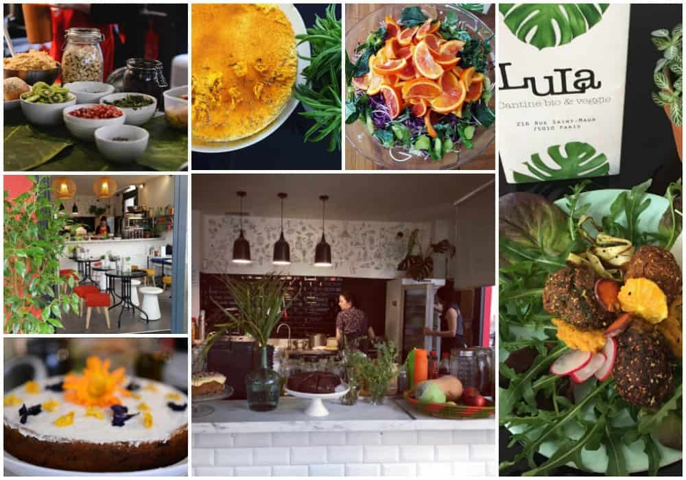 vegetarian restaurants in Paris - Lulu Lifestyle Shop - brunch vegan Paris