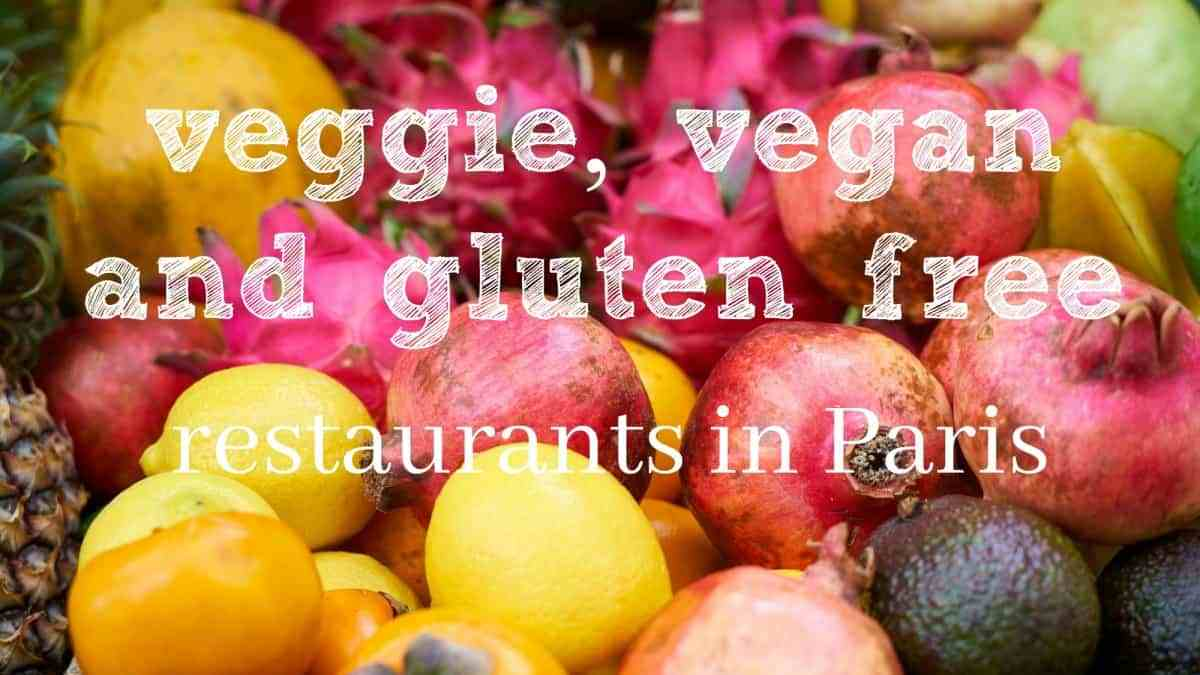 Vegan and vegetarian Paris – Where to eat out?