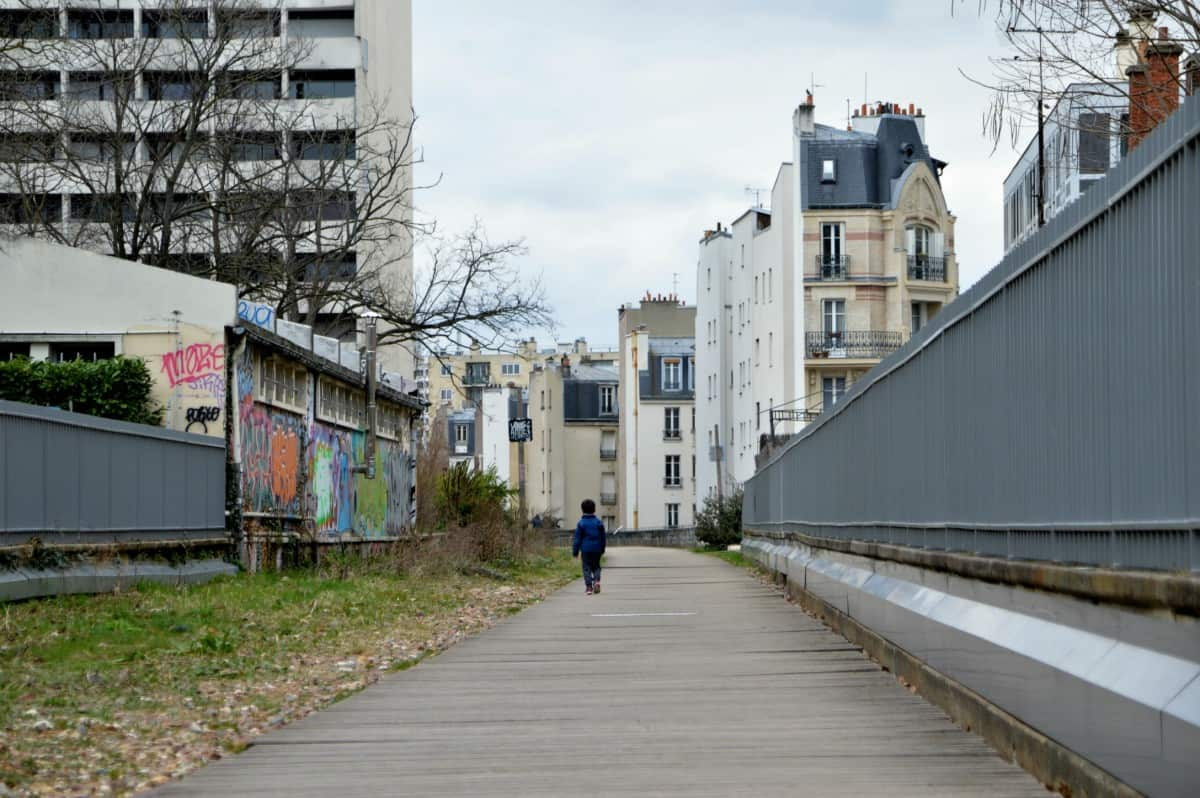 The Petite Ceinture in the 15th is also nice to visit with kids and discover Paris off the beaten path as a family. Don't worry if you're coming with a stroller, there are elevators :)