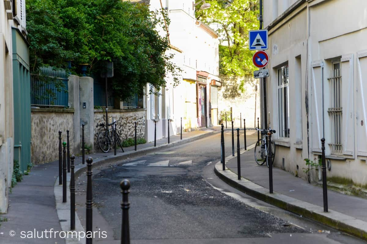 Belleville - great place to see a hidden Paris and also home to china town of Paris