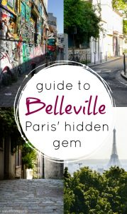 Belleville - Paris off beat location if you want to discover Paris as a local - Belleville is a hidden gem of Paris that is like a village within the city