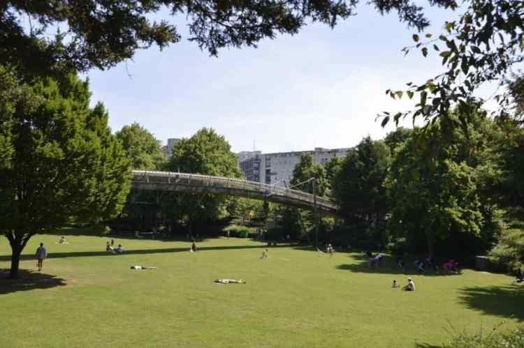 Jardin de Rueilly - promenade plantée