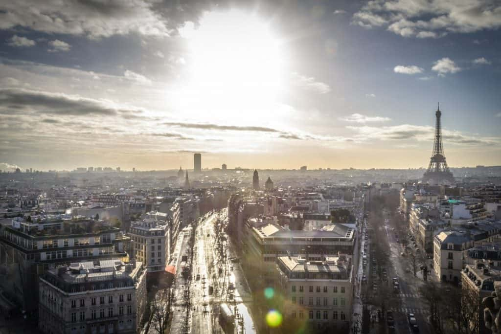 Visit Montparnasse to see the eiffel tower