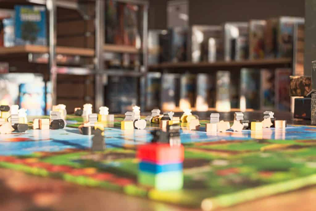 Board games in Paris