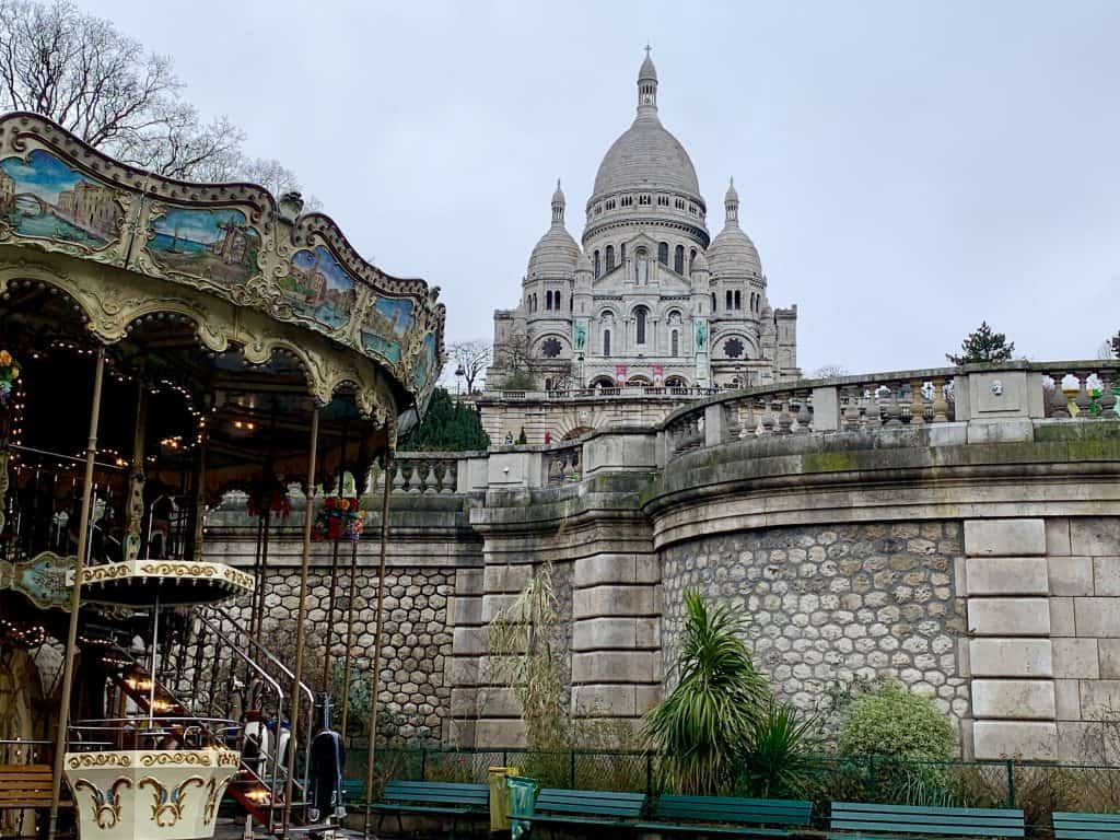 Montmartre virtually - enjoy a view over Paris from the Sacre Coeur