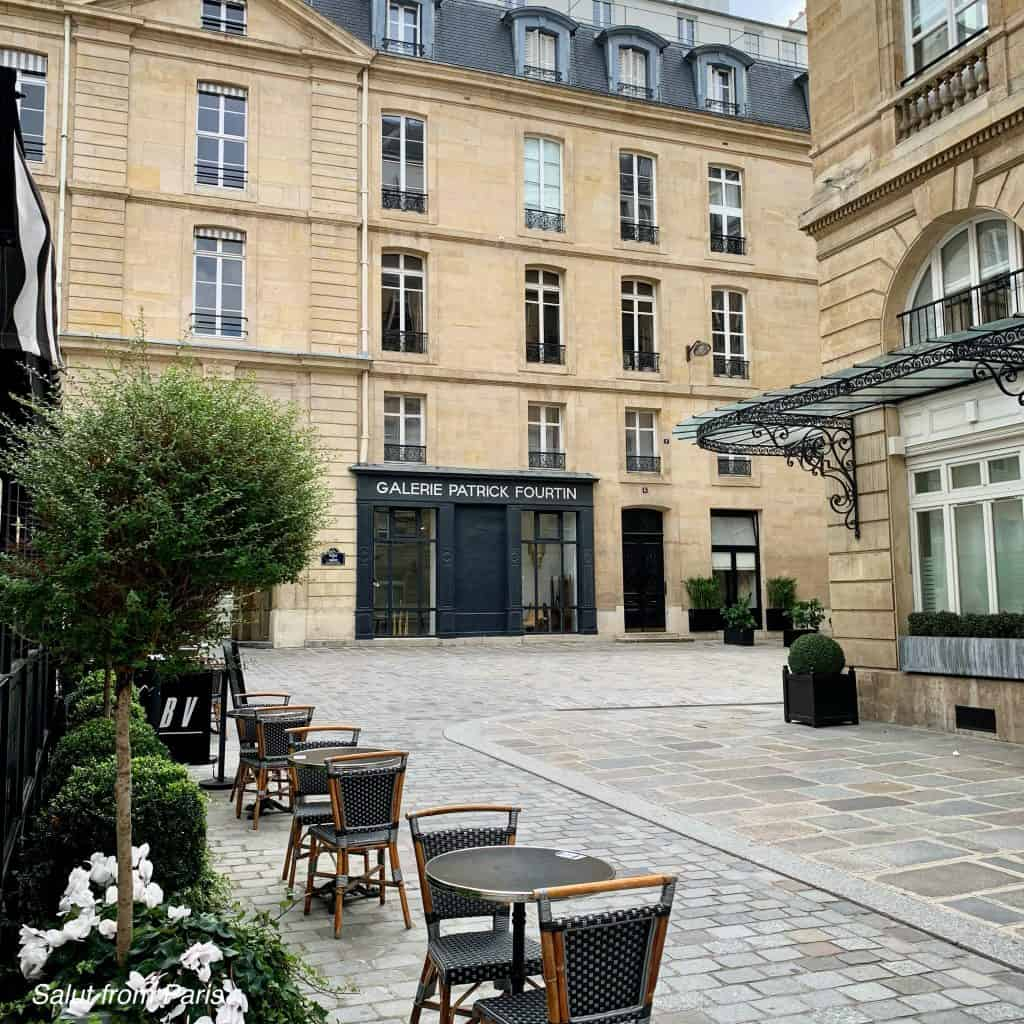 Emily's Workplace - Savoir, next to the Palais Royal