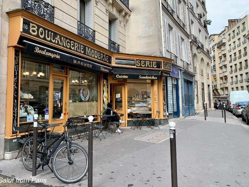 Filming Locations Emily in Paris - Boulangerie Moderne
