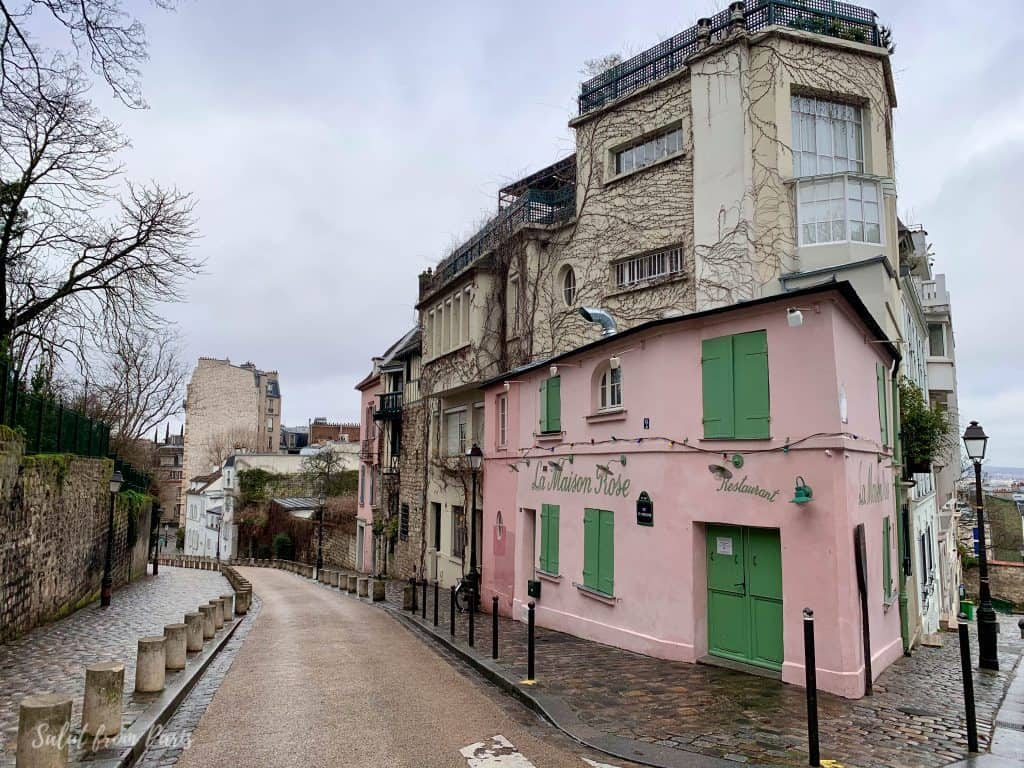 Maison Rose - one of the filming locations of Emily in Paris