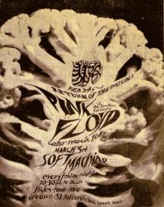 Soft Machine, Pink Floyd, Ufo Club, London 67