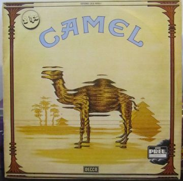 Camel Snow Goose Mirage Cover Caratula copertina