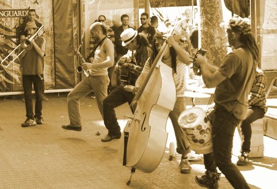 Artisti a Barcellona