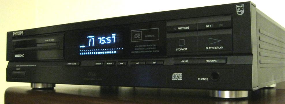 CD Player Next previous vinile contro cd