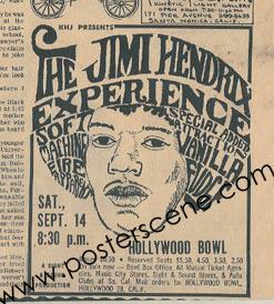JHE Hollywood Bowl soft machine live usa 1968