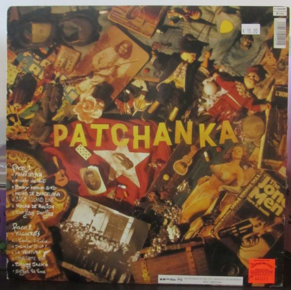 Patchanka, artwork, caratula, copertina, cover art, Mano negra