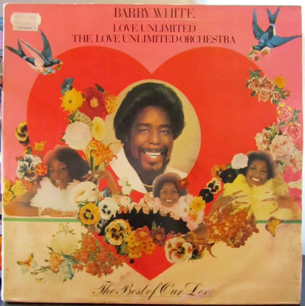 Barry White Love Unlimited Orchestra Copertina