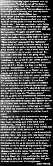 John Mayall Blues Giant Articolo Interno